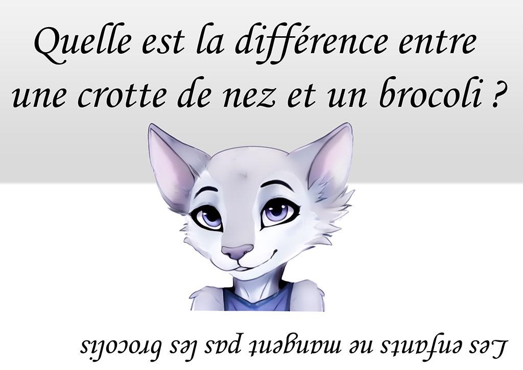Devinette Humour Brocoli