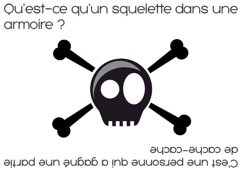 Devinette squelette